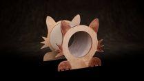 Kratzbaum - kleine Katze