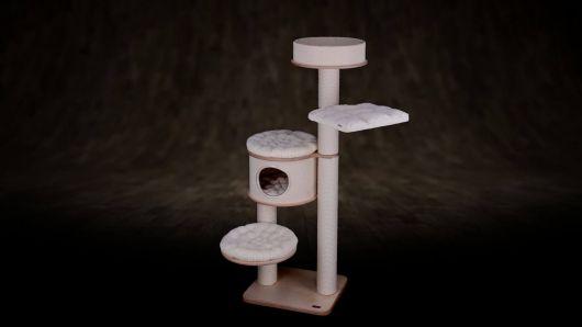 Kratzbäum für katzen EX-2C
